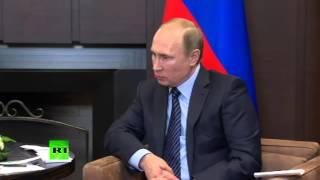 Владимир Путин Сбитый Турцией российский Су 24 — это удар в спину
