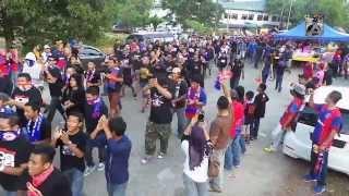 Corteo Ultras Boys Of Straits From JDT Malaysia