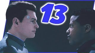 The MOST Tense Situation Yet! Booty Puckered! - Detroit: Become Human Walkthrough Ep.13