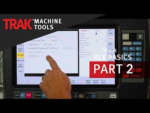 Defaults & Options [Part 2] | ProtoTRAK RLX CNC | Lathe Programming