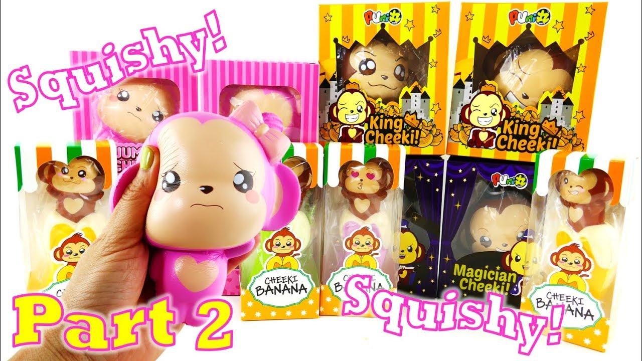New Squishies! Jumbo Cheeki Monkey Squishy Haul - CreamiiCandy Squishy Episode 2