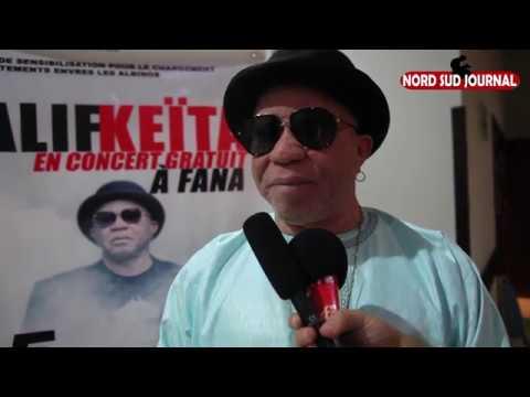 Salif Keita denonce les exactions contre les Albinos