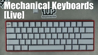 """[Livestream] How-to build a better """"pok3r"""" 60% mechanical keyboard"""