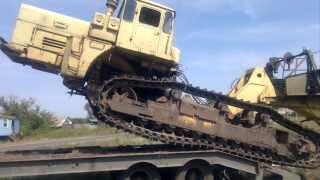 ПМК-106 г.Белгород переброс техники на трале