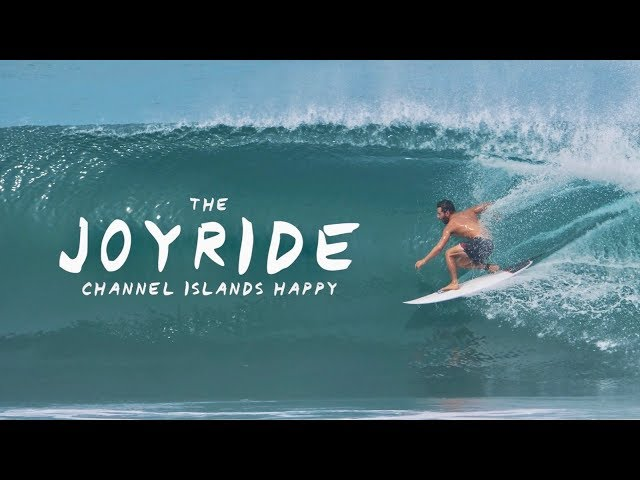 The Joyride Board Test: Channel Islands Happy