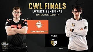 Team Reciprocity vs Gen.G | CWL Finals 2019 | Day 3