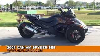 2009 can am spyder roadster se5 motorcycle specs reviews prices inventory dealers. Black Bedroom Furniture Sets. Home Design Ideas