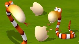 Газун мультфильм для детей - Борьба за Яйцо Смешные мультики для малышей