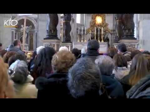 Des Romains en Pèlerinage à Saint-Pierre