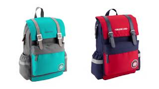 """Рюкзак молодежный College Line K18-890L-2 от компании Интернет-магазин """"Радуга"""" - школьные рюкзаки, канцтовары, творчество - видео"""