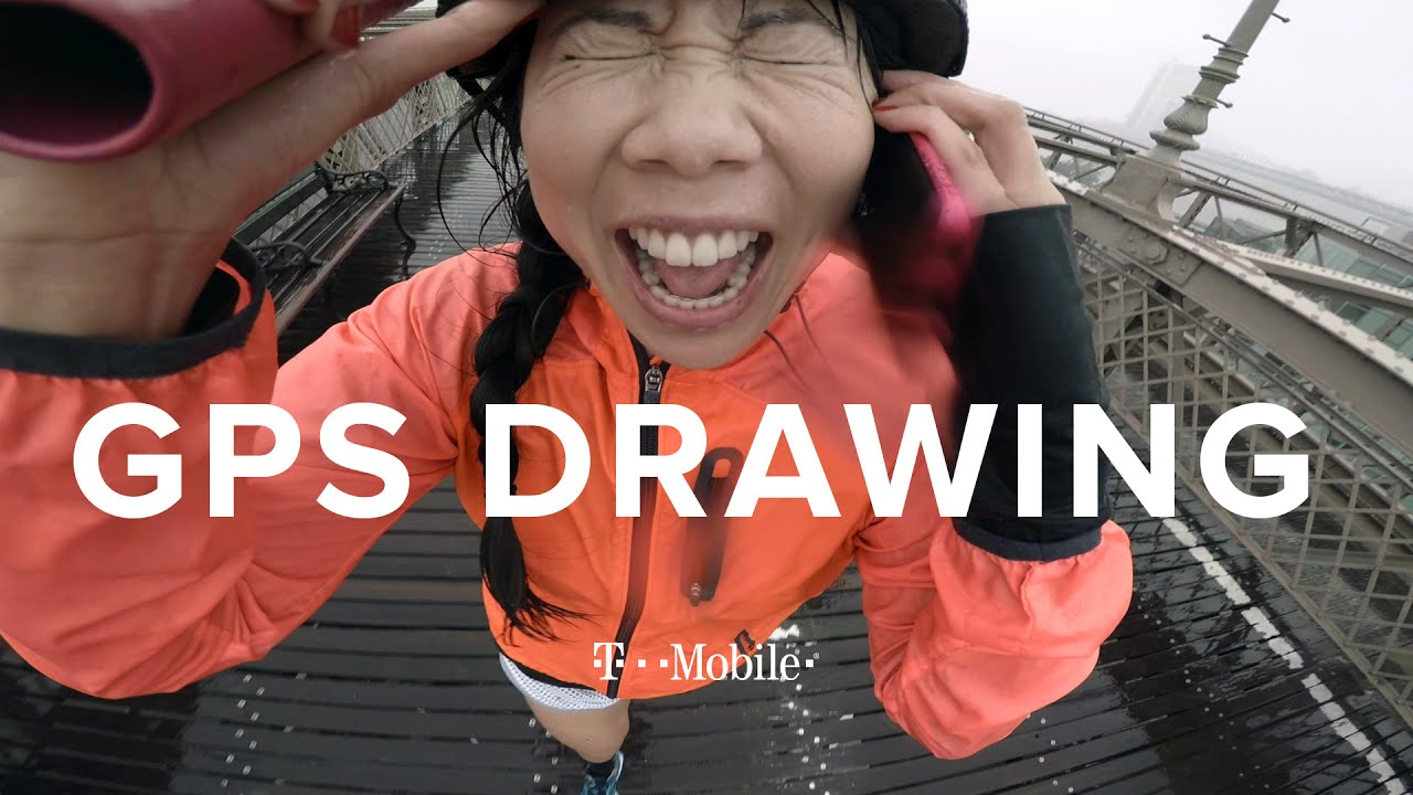 The GPS Drawing Challenge: NYC // Presented by BuzzFeed & T-Mobile thumbnail