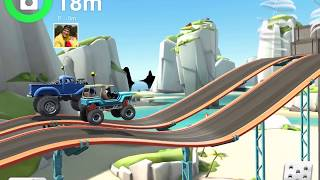 MMX HILL DASH 2 Android / iOS Gameplay Video   Micro / Monster Truck Tropical Levels