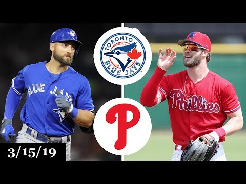 Toronto Blue Jays vs Philadelphia Phillies Highlights | March 15, 2019 | Spring Training