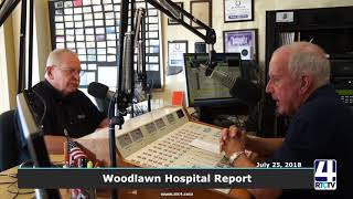 Woodlawn Hospital Report - July 2018