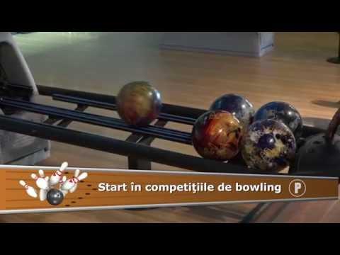 Start în competițiile de bowling