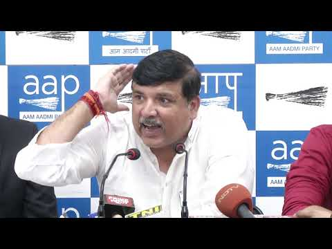 AAP RS Member Sanjay Singh briefs on another fraud Nitin Sandesara flees without paying 5000 crore to bank