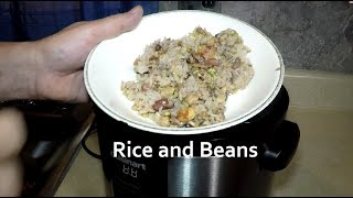 Rice and Beans in a Cuisinart Pressure Cooker