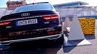 Audi A8 (2018) The Most High-Tech Car Ever? – DEMONSTRATION | Kholo.pk