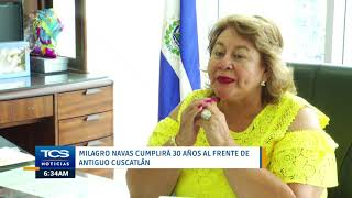 Milagro Navas cumplirá 30 años al frente de Antiguo Cuscatlán