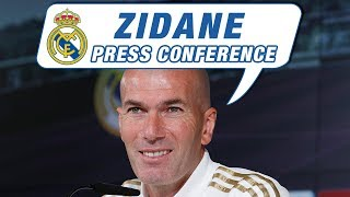 Real Madrid - Betis | Zidane's pre-match press conference