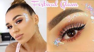 Extra AF Festival Makeup Tutorial   SHANI GRIMMOND