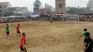 Trận Chung Kết giải hội làng Mẫn Xá. FC Mẫn Xá-FC Quan Độ, Hiệp 1