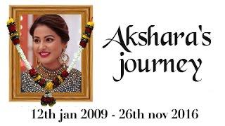 Akshara's UNFORGETTABLE Journey   Yeh Rishta Kya Kehlata Hai