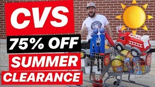 ☀️ CVS CLEARANCE SHOPPING! 75% off TOYS, SWIM & MORE!!