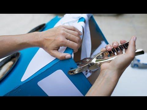 disfraz coche carton - Disfraz Rayo McQueen DIY – Ideas para fiesta de Cars DIY