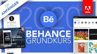 Behance (Grundkurs Für Anfänger) Deutsch (Tutorial)