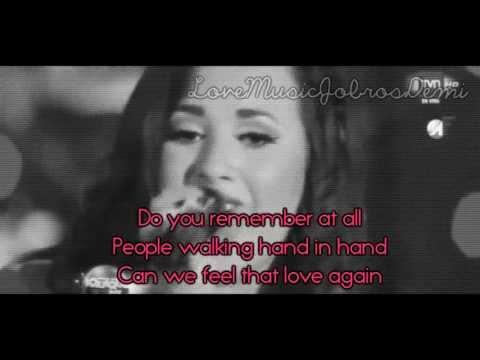 Karaoke Together Demi Lovato Instrumental