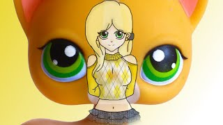 LPS: Angelina Davis Human Form Speed Paint! - For Sophiegtv
