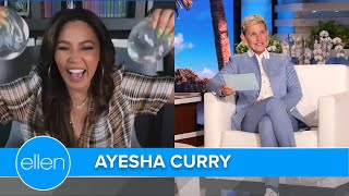 Ayesha Curry Reveals Her Implants in 'Drawer Dash'!