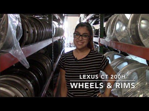 Factory Original Lexus CT 200H Wheels & Lexus CT 200H Rims – OriginalWheels.com