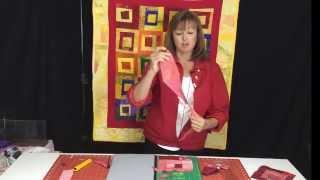 Baby Quilt Log Cabin Scrap Quilt - A No-stress Technique To Use Those Scraps!