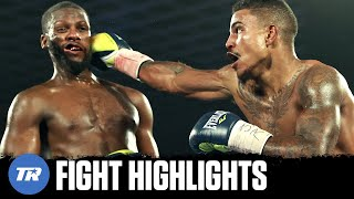 Donte Stubbs knocked down Fred Wilson Jr. twice with the same punch! | FULL FIGHT HIGHLIGHTS