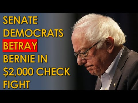 Bernie Sanders BETRAYED by Senate Democrats during Filibuster for $2,000 Stimulus Checks