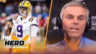 Colin Cowherd lists the best and worst destinations for QBs in the 2020 NFL Draft | THE HERD