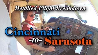"Private Jet from Cincinnati to Sarasota - Detailed ""How to Fly"" Breakdown"