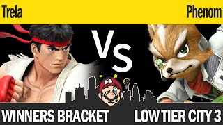 LTC3 Smash4 - Trela (Ryu) vs Phenom (Fox) - Winners Bracket
