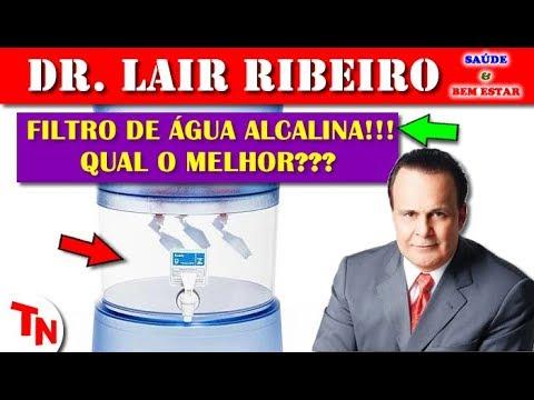 FILTRO DE ÁGUA ALCALINA!!! QUAL O MELHOR??? E A Melhor Água??? Lair Ribeiro Responde!!!