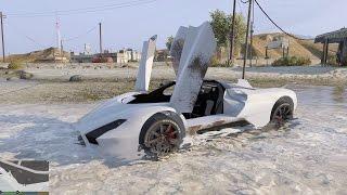GTA 5 Mod - Siêu xe tốc độ SSC Tuatara chở ghệ đi chơi Tết ^_^