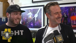 David Arquette takes a friendly jab at Brock Lesnar: NXT TakeOver Exclusive, Aug. 18, 2018