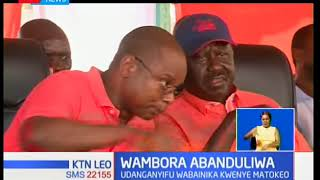 Gavana wa Embu Wambora apoteza kiti chake huku gavana Ali Hassan Joho kupata afueni