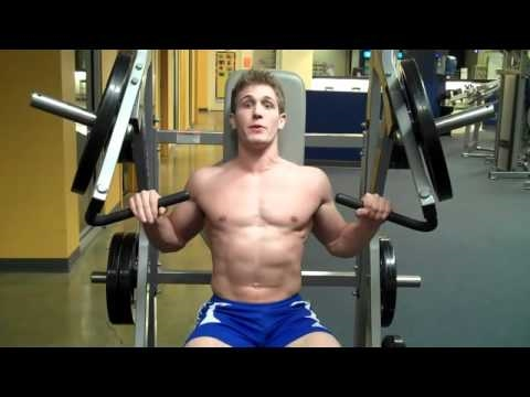 Hammer Strength Machine Incline Bench Press
