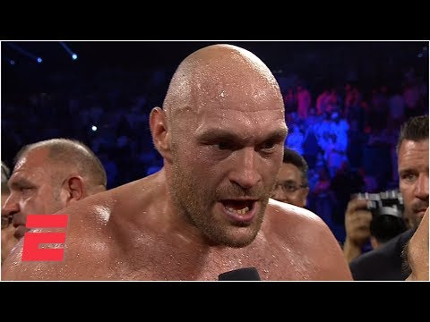 Download Tyson Fury Screams 'bring Em All On' After KO Of Tom Schwarz | ESPN Boxing HD Mp4 3GP Video and MP3