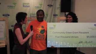 The Ford Pavilion and Ford Community Green Grant - LA 2013