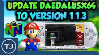 PSP/PS Vita How To Update DaedalusX64 To Version 1.1.3!