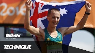 Race Walking Technique with Olympic Champion Jared Tallent | Gillette World Sport