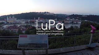 preview picture of video 'Luftaufnahme Passau - Mariahilf und Umgebung | HD'